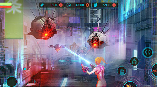 Cyber strike: Infinite runner for Android - Download APK free