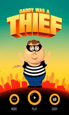 Daddy Was A Thief poster