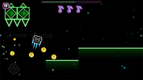 Screenshots von Daft jump für Android-Tablet, Smartphone.