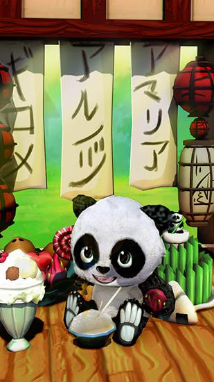 Screenshots von Daily panda: Virtual pet für Android-Tablet, Smartphone.
