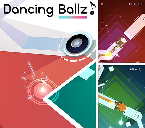 Dancing ballz: Music dance line tiles game
