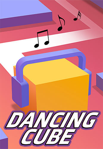Dancing cube: Music world poster