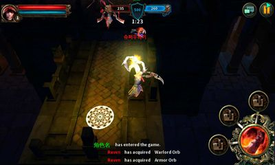 Screenshots von Dark Avenger für Android-Tablet, Smartphone.