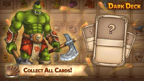 Screenshots von Dark deck: Dragon card CCG für Android-Tablet, Smartphone.