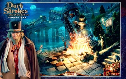 Screenshots von Dark strokes: Sins of the fathers collector's edition für Android-Tablet, Smartphone.