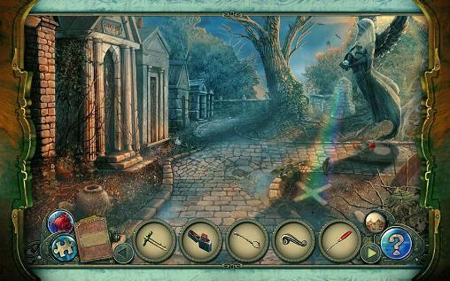 Kostenloses Android-Game Dunkle Geschichten: Edgar Allan Poes Das vorzeitige Begräbnis. Sammlerausgabe. Vollversion der Android-apk-App Hirschjäger: Die Dark tales: Edgar Allan Poe's The premature burial. Collector's edition für Tablets und Telefone.