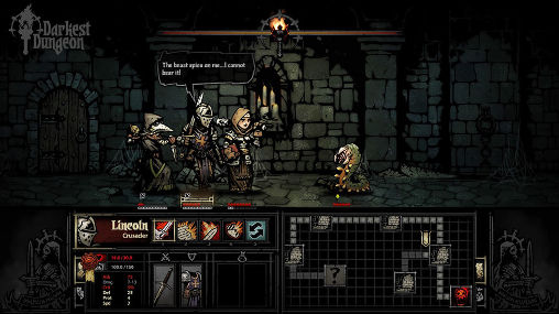 Screenshots do Darkest dungeon - Perigoso para tablet e celular Android.