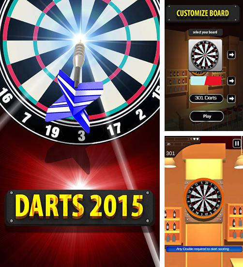In addition to the game Darts for Android phones and tablets, you can also download Darts 2015 for free.