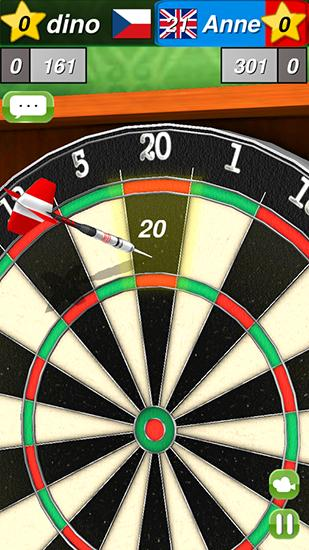 Screenshots von Darts 3D by Giraffe games limited für Android-Tablet, Smartphone.
