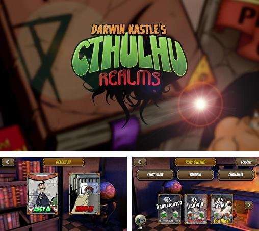 In addition to the game Star realms for Android phones and tablets, you can also download Darwin Kastle's Cthulhu realms for free.