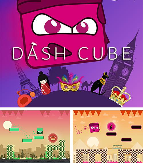 Dash cube: Mirror world tap tap game
