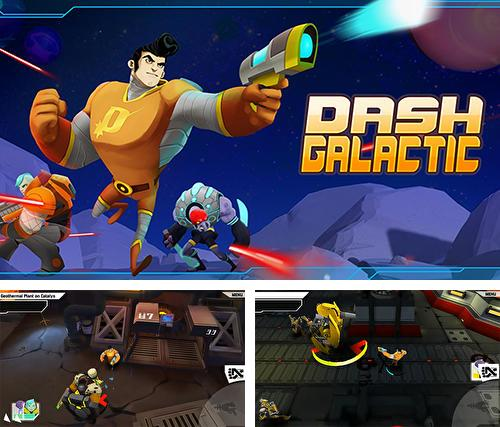 In addition to the game Warfriends for Android phones and tablets, you can also download Dash Galactic for free.