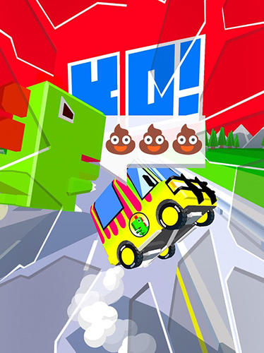 Juega a Dashy crashy turbo para Android. Descarga gratuita del juego Carrera turbo destructiva.