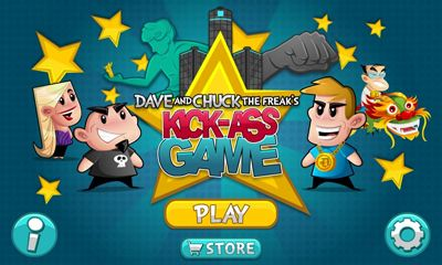 Dave & Chuck's Kick-Ass Game обложка