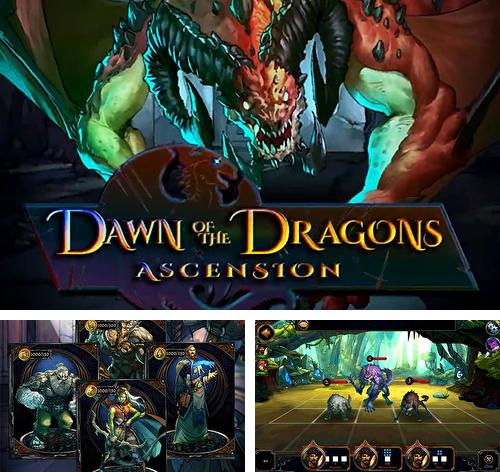 Zusätzlich zum Spiel Gigantisch X für Android-Telefone und Tablets können Sie auch kostenlos Dawn of the dragons: Ascension. Turn based RPG, Dämmerung der Drachen: Himmelfahrt. Rundenbasiertes RPG herunterladen.