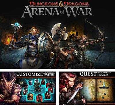 In addition to the game Cosmo Combat 3D for Android phones and tablets, you can also download D&D Arena of War for free.