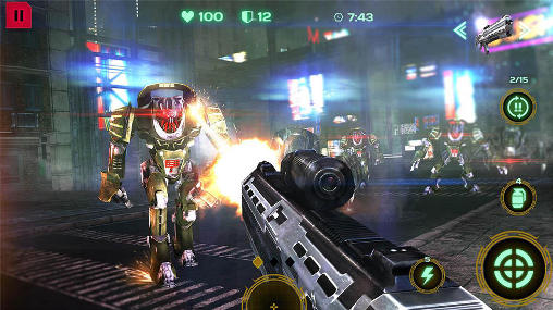 Dead Earth: Sci-Fi FPS shooter скриншот 2