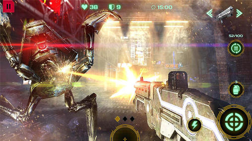 Screenshots von Dead Earth: Sci-Fi FPS shooter für Android-Tablet, Smartphone.