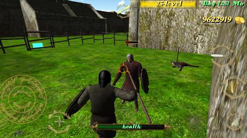 Screenshots von Deadly medieval arena für Android-Tablet, Smartphone.
