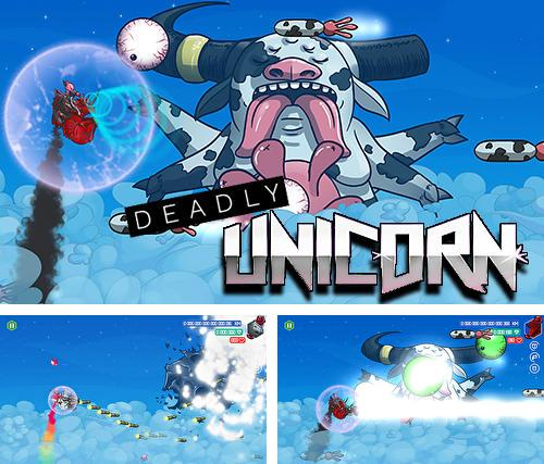 Deadly unicorn jetpack challenge