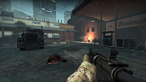 Death city: Zombie invasion screenshot 3