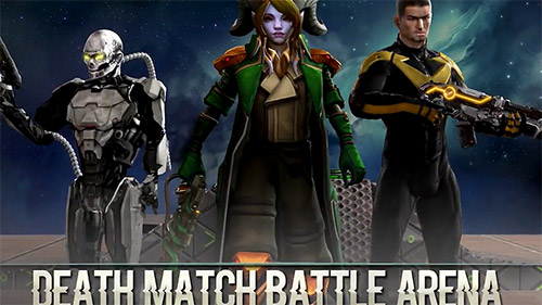 Death match battle arena poster