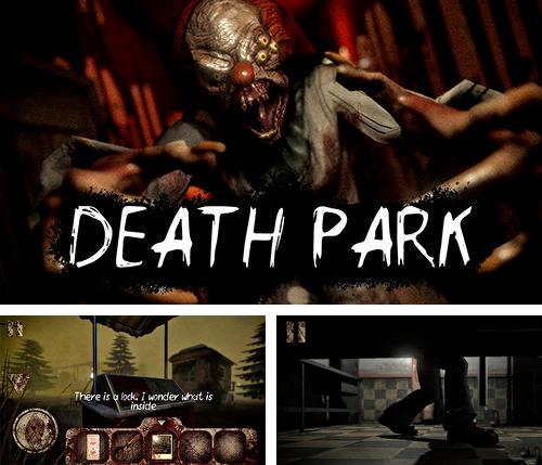 Death park: Scary clown survival. Halloween horror