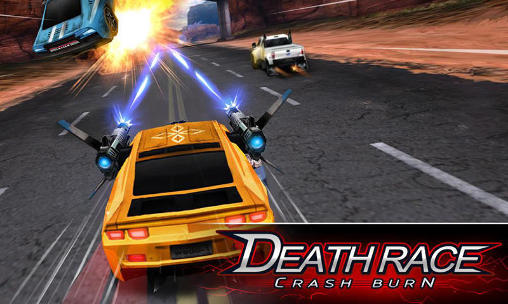 Death race: Crash burn обложка