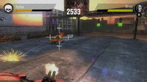 Juega a Death race: The game para Android. Descarga gratuita del juego Carrera mortal .