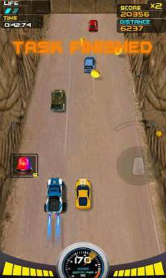 Screenshots of the Death Racing 2 Desert for Android tablet, phone.