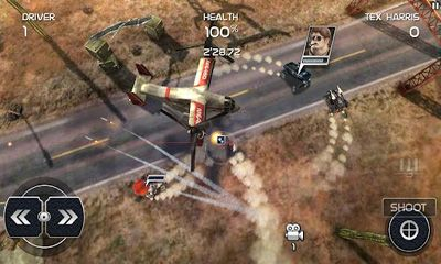 Screenshots von Death Rally Free für Android-Tablet, Smartphone.