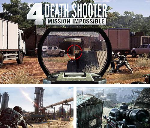 En plus du jeu Maître du tir  pour téléphones et tablettes Android, vous pouvez aussi télécharger gratuitement Tireur de mort 4: Mission impossible , Death shooter 4: Mission impossible.
