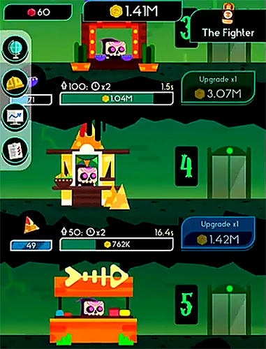 Death tycoon: Idle clicker and tap to make money! screenshot 5