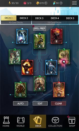 Deckstorm: Duel of guardians screenshot 1