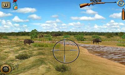 Screenshots of the Deer Hunter African Safari for Android tablet, phone.