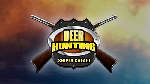Deer hunting sniper safari: Animals hunt poster
