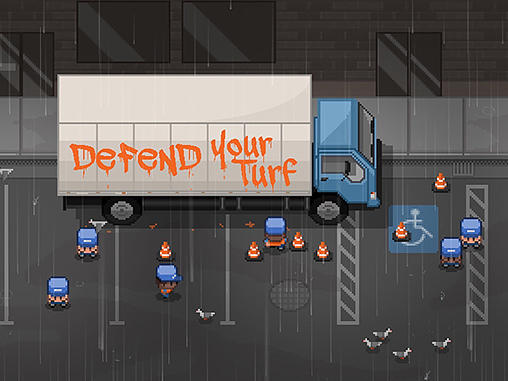 Defend your turf: Street fight poster