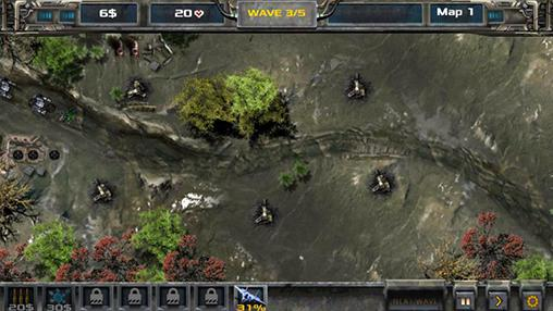 Screenshots von Defense legend für Android-Tablet, Smartphone.