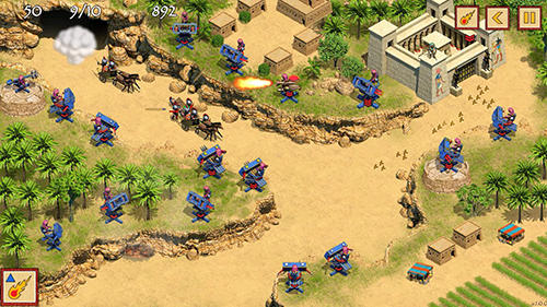 Defense of Egypt: Cleopatra mission screenshot 1