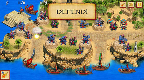 Screenshots von Defense of Egypt: Cleopatra mission für Android-Tablet, Smartphone.