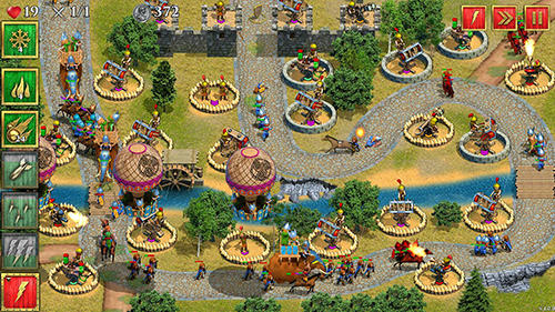 Capturas de pantalla de Defense of Roman Britain TD: Tower defense game para tabletas y teléfonos Android.