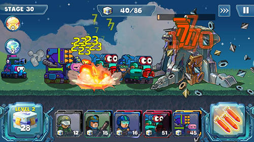 Jogue Defense war para Android. Jogo Defense war para download gratuito.