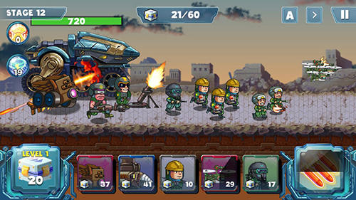 Screenshots do Defense war - Perigoso para tablet e celular Android.