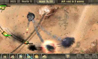 Screenshots von Defense zone HD für Android-Tablet, Smartphone.