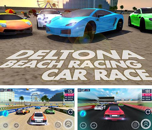 Deltona beach racing: Car racing 3D