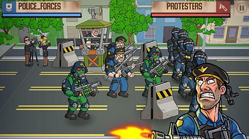 Democracy on fire für Android spielen. Spiel Demokratie in Flammen kostenloser Download.