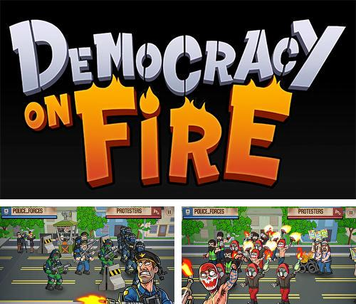 Democracy on fire