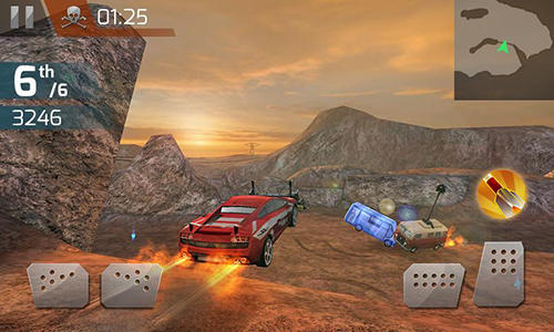 Kostenloses Android-Game Demolition Derby 3D. Vollversion der Android-apk-App Hirschjäger: Die Demolition derby 3D für Tablets und Telefone.