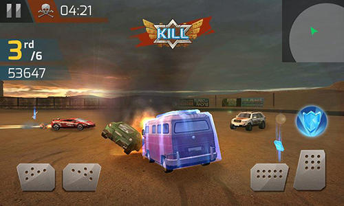 Demolition derby 3D für Android spielen. Spiel Demolition Derby 3D kostenloser Download.