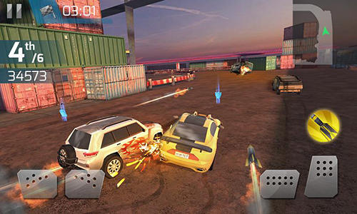 Screenshots von Demolition derby 3D für Android-Tablet, Smartphone.